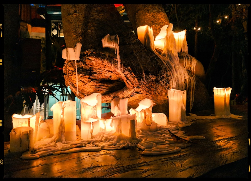 Candles in Playa del Carmen