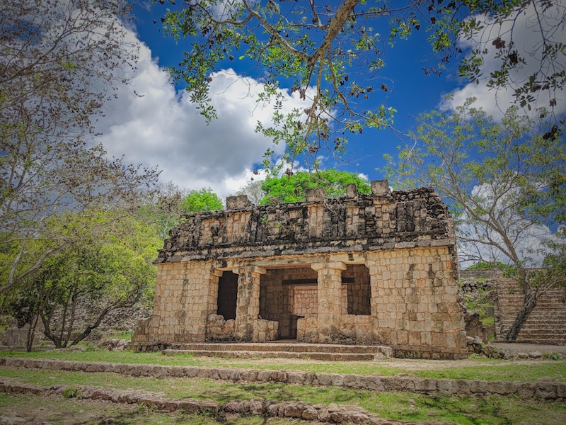 The temple in Uxmal